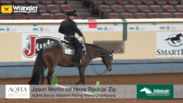 Jason Martin Wins AQHA Senior Western Riding World Championship on Heza Radical Zip