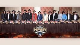 Steer Ropers Eye Gold Buckle at Clem McSpadden NFSR
