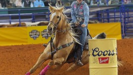 Kinsel Breaks the 16 Second Mark to Win the Fifth Round at Wrangler NFR