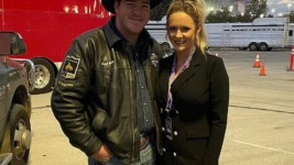 Edler Places Again at the Wrangler NFR
