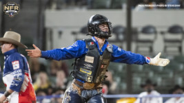 Stetson Wright Dazzles in Round 7 with Saddle Bronc Riding, Bull Riding Wins
