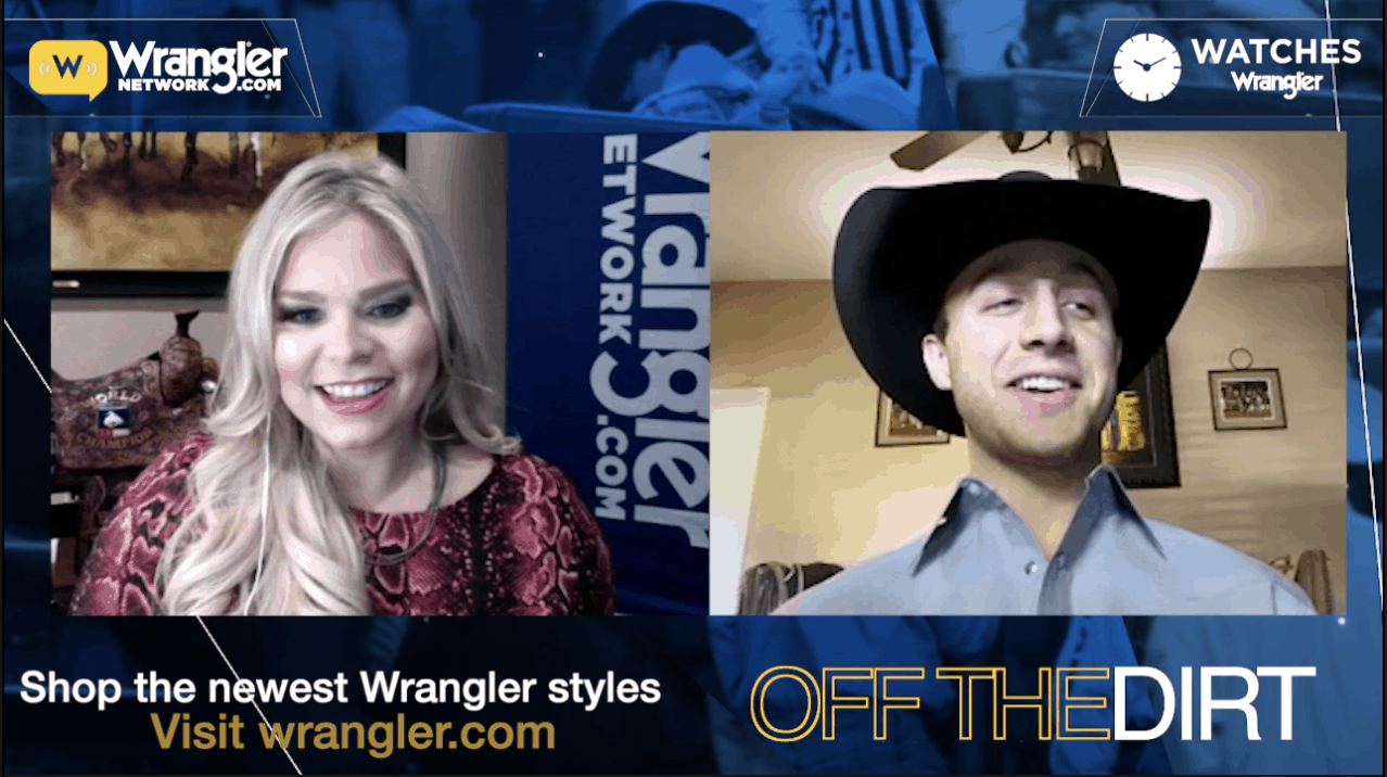 Kimzey and Kimzey: Alexis talks to Sage 'Off The Dirt' About the 2020 Wrangler NFR