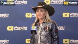 Tiany Schuster wins the 2020 Jerry Ann Taylor Best Dressed Cowgirl Award