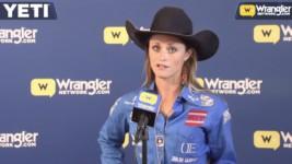 Texas Cowgirl Stevi Hillman Wins Round 10