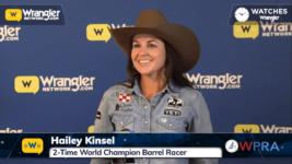 WPRA's Hailey Kinsel