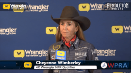 WPRA's Cheyenne Wimberley