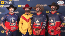 Lecile Harris Honored at Wrangler NFR