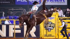 Biglow Gains Lessons at 2020 Wrangler NFR