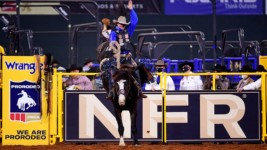 Casper Drops to Second at the Wrangler NFR