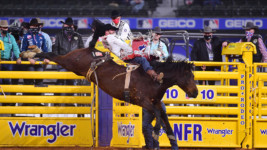 Clements Caps Wrangler NFR on Strong Note