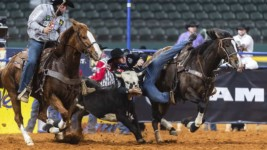 Melvin Finds Another Wrangler NFR Check