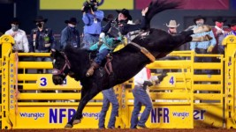 Pope Scores First Wrangler NFR Round Win