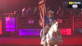 IFR51 John Schneider Star Spangled Banner Tribute