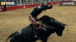 Dustin Boquet Wins Valentine's Day XTreme Bulls in San Antonio