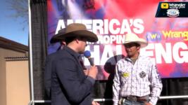 America's Team Roping Challenge 12 Year Old Michael Calmelat