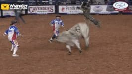 Colten Fritzlan Lights it Up at the American with 89.75 Point Ride