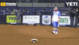 Matt Merritt Nervous at a Texas Rodeo