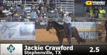 Jackie Crawford, Fast is her Middle Name