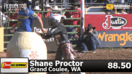 Proctor Wins Red Bluff Bull Riding Championship