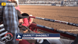 2019 PRCA Bareback Resistol Rookie of the Year Earns the First Score in Clovis