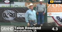 Talon Roseland at Reno Rodeo