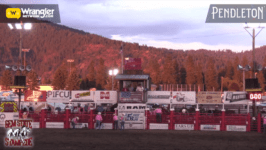 Rodeo Action From Coeur d'Alene's Gem State Stampede