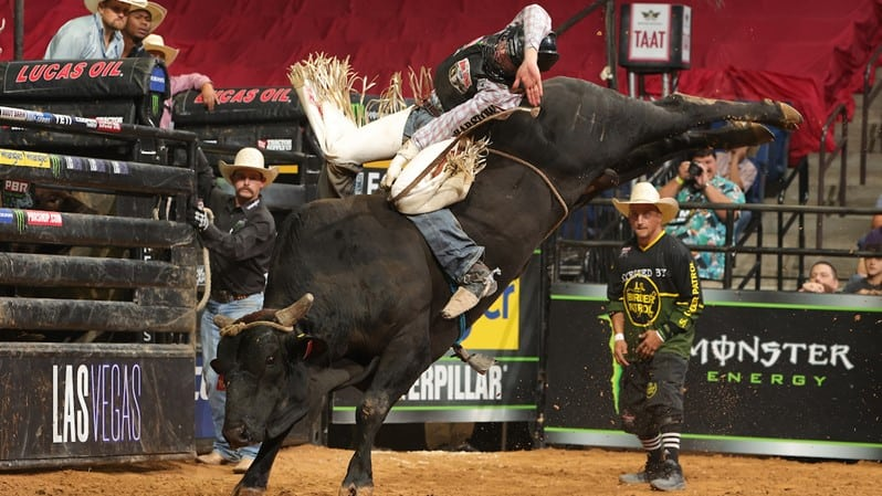 Campbell Remains Red Hot to Win Round 1 of PBR Unleash The Beast Action in Tulsa