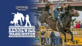 Horse Heaven Round-Up Rodeo: Wednesday, August 25th presented by Cavender's