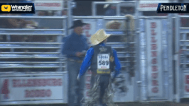 Rusty Wright Scores 86 Points at Ellensburg Rodeo Perf 1