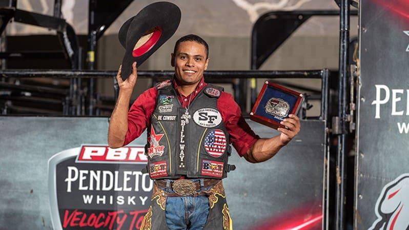 Davi Henrique de Lima Wins First Career Pendleton Whisky Velocity Tour Event in Dayton