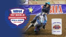 NBHA Open and Senior World Championships: Sunday, October 24th